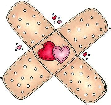 bandaids / gute Besserung