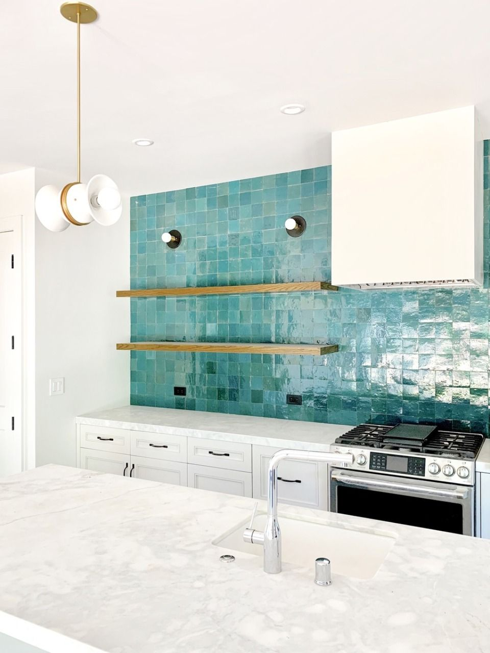 Fired Opal Zellige 4 X4 X3 8 Easy Kitchen Backsplash Kitchen Backsplash Diy Kitchen Backsplash
