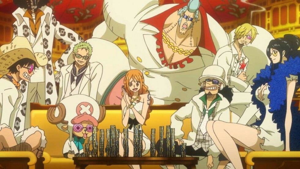 one piece gold free