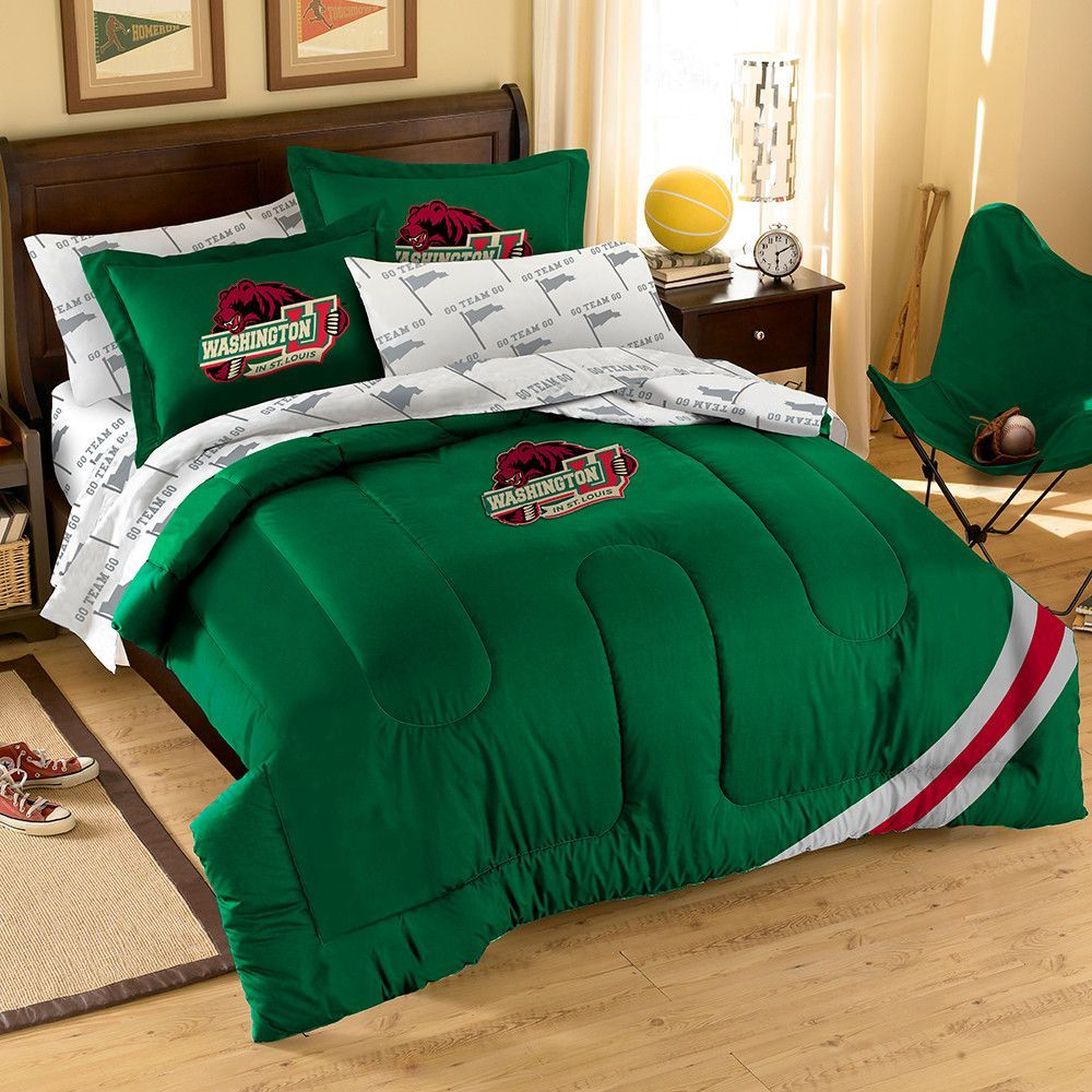 Ncaa University Of Wisconsin Badgers Bed In A Bag Complete Bedding Set Full
