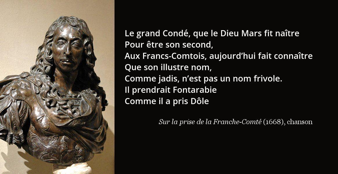 Volume 3 Règne, Faire connaitre, Franc comtois