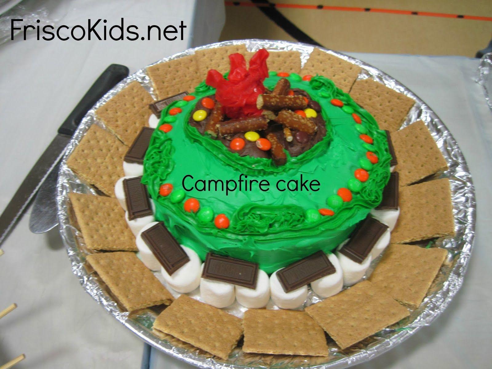 Cub Scout Cake Bake Ideas