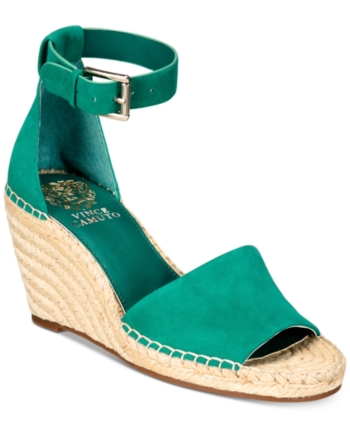 a8350e15c49 Vince Camuto Leera Espadrille Wedge Sandals - Black 5M in 2019 ...