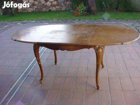 Antik Étkezőasztal/bővíthető/ és Dohányzóasztal eladó: Használt de ...