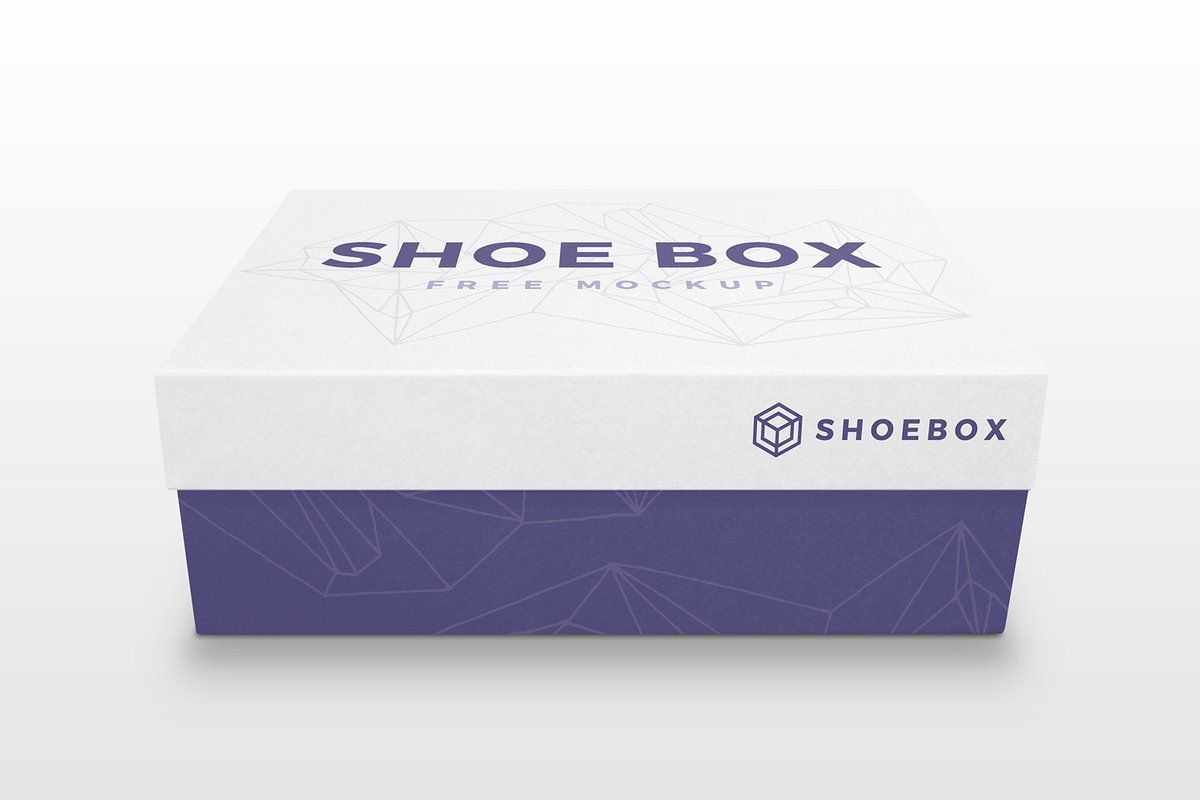 Download Free Shoe Box Mockup Psd Shoe Box Box Mockup Learning Graphic Design