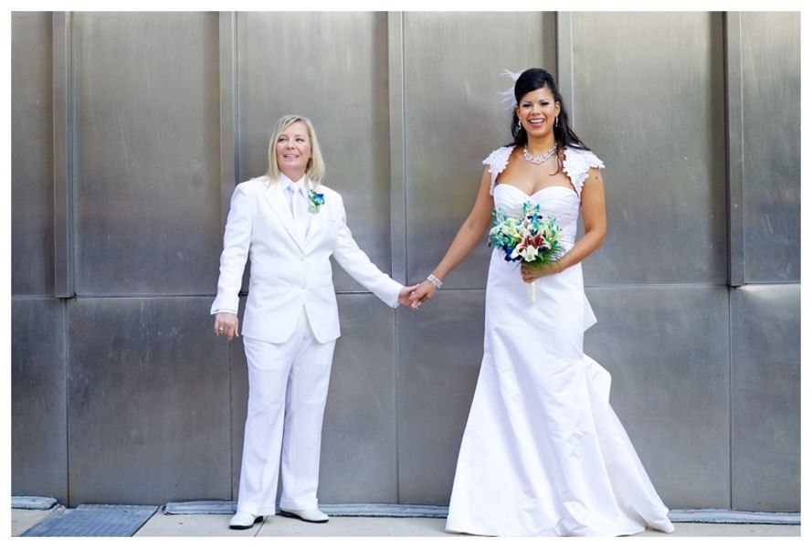 lesbian weddings | few words from their photographer, Maggie Rife ...