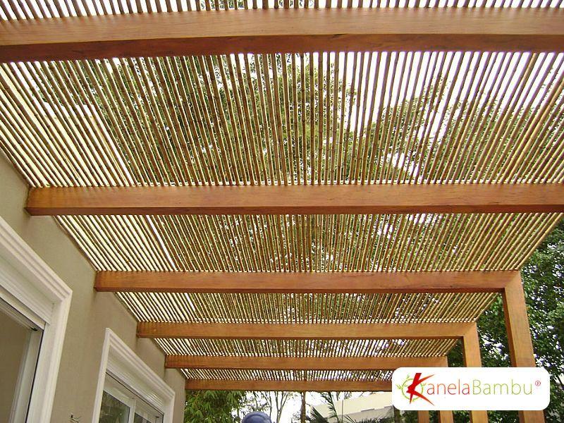 pergolado de bambu : Pergolados em Bambu Kanela Bambu ? Pinteres?