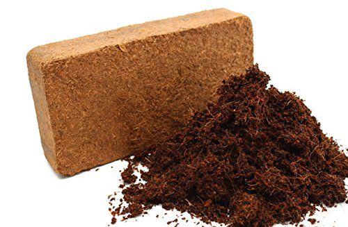 Organic Coconut Coir Brick 14lb Water Saving Coco Fiber Growing ...