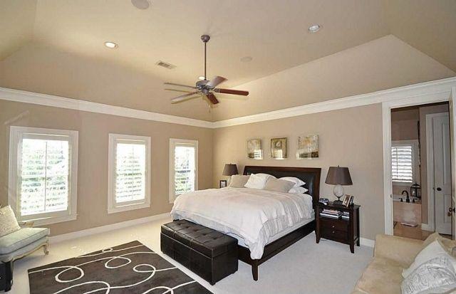 Wandfarben Im Schlafzimmer 105 Ideen Fur Schone Nachte Dormitorio Color Beige Dormitorios Color Beige Pared