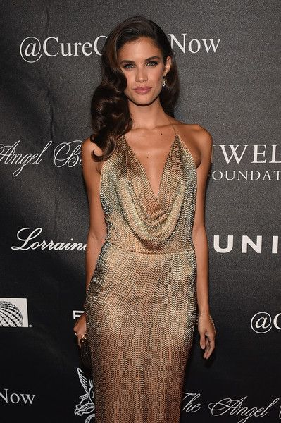 Sara Sampaio Photos Photos - Model Sara Sampaio attends Angel Ball 2015 hosted by Gabrielle's Angel Foundation at Cipriani Wall Street on October 19, 2015 in New York City. - Gabrielle's Angel Foundation Hosts Angel Ball 2015 - Arrivals