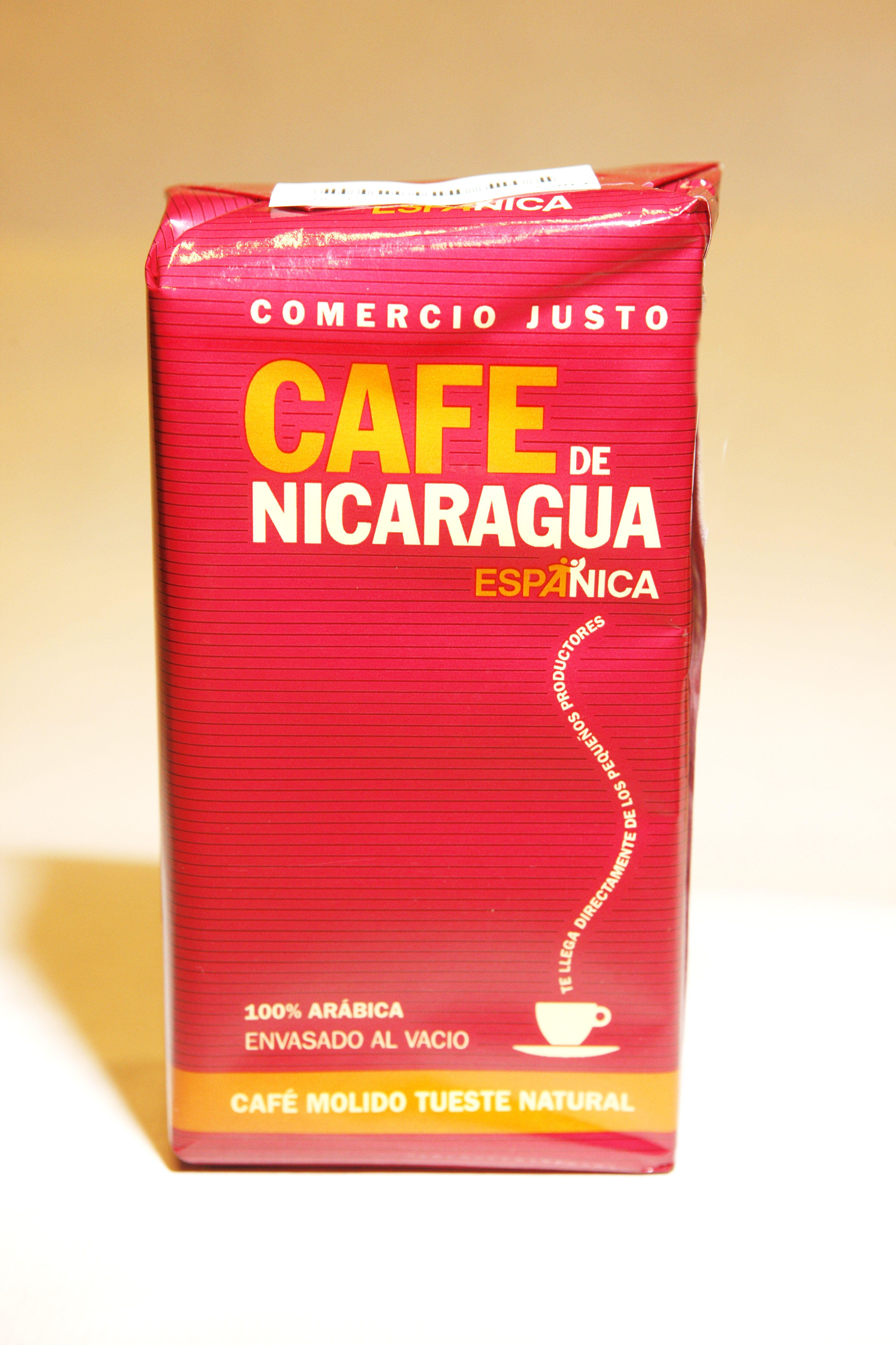 Cafe arabica de Nicaragua Comercio Justo