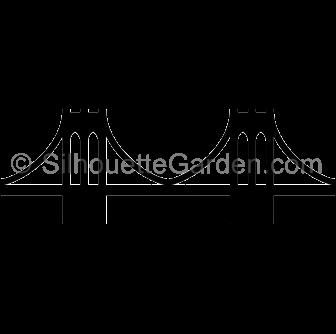 brooklyn bridge silhouette clip art download free versions of the rh pinterest ca Brooklyn Bridge Tattoo Brooklyn Bridge Tattoo