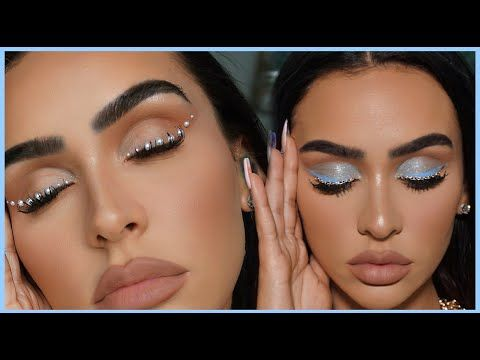 PEARLS & CHAINS⛓ EYELINER TUTORIAL | MADDY/EUPHORIA INSPIRED! #maddyeuphoriaoutfits