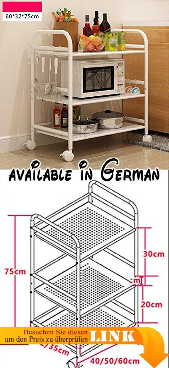 B078WR85QJ : L&Y Kitchen furniture Küche Regal-Landung ...