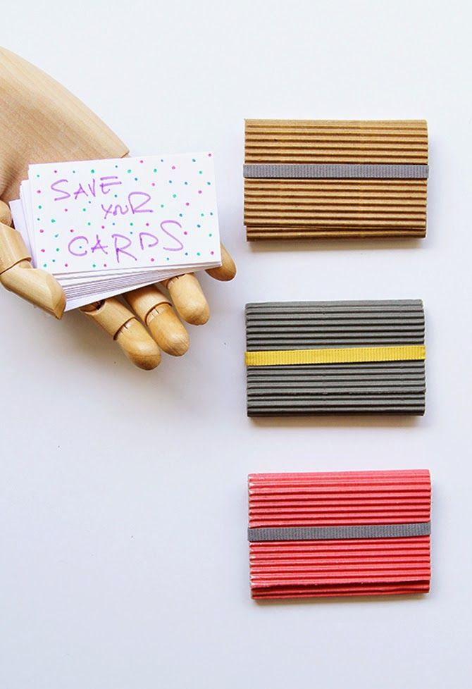 Mylifebox Diy Paper Card Holders Handmade Business Cards Paper Craft Tutorials Diy Paper