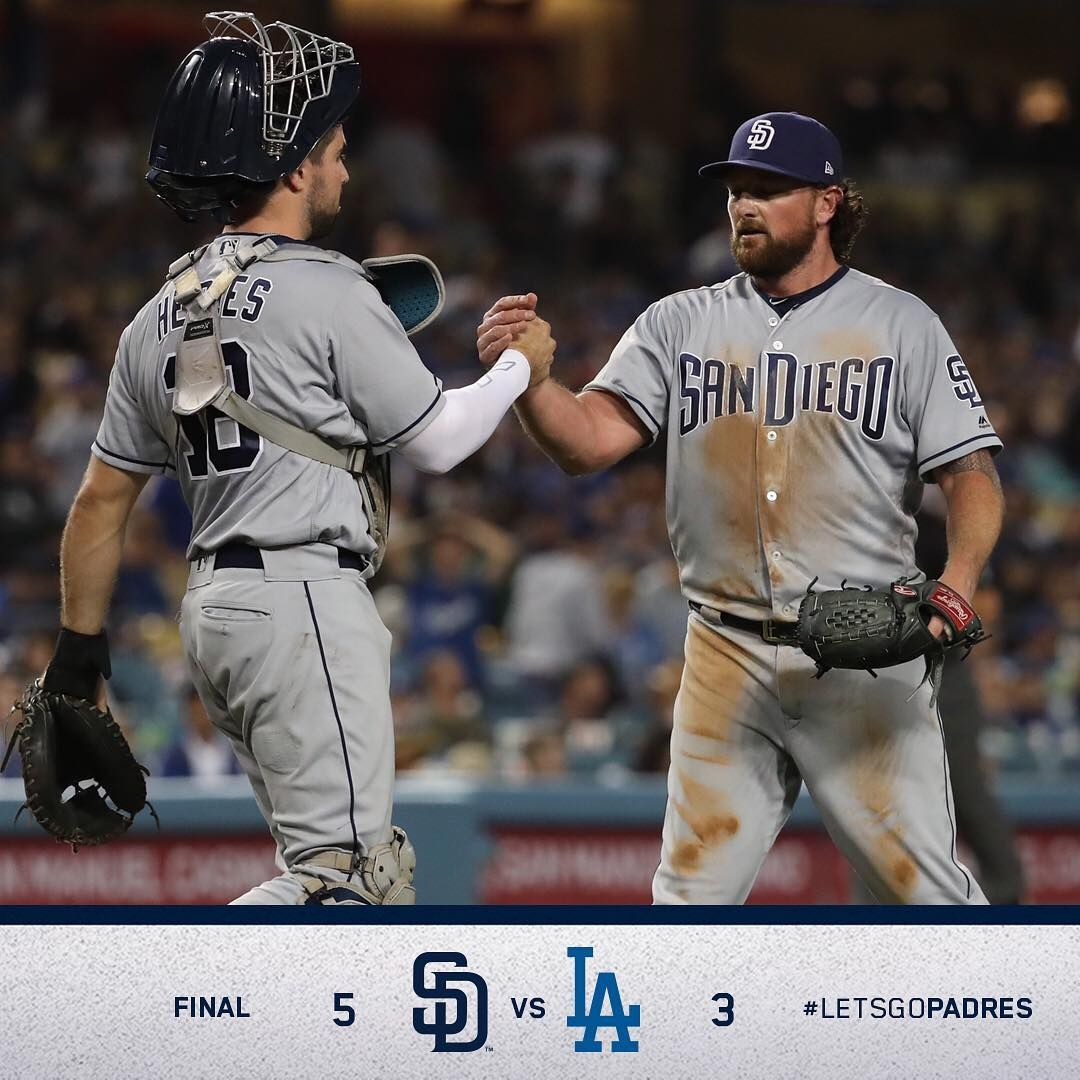 We Put In The Work For This Padreswin With Images San Diego Padres Baseball Players Padres