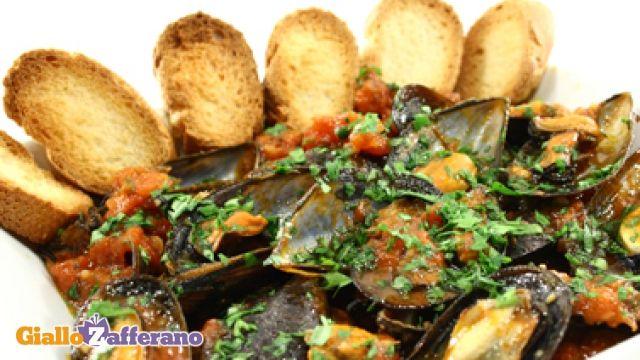 Zuppa Di Cozze Alla Napoletana Ricetta Mia Puglia Food