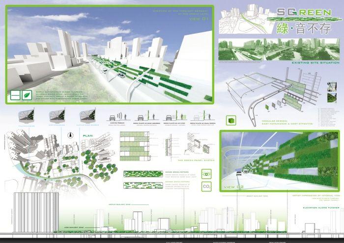 Noise Barrier Green Buscar Con Google Green Noise