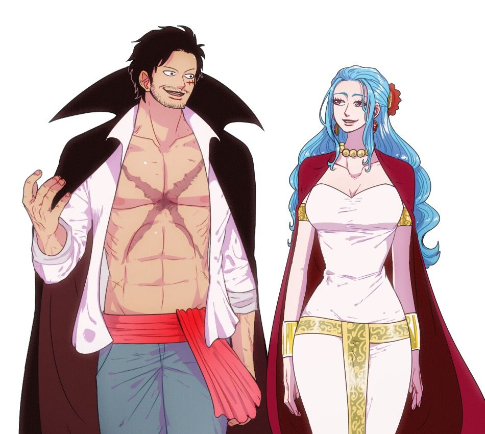 The Pirate King And The Queen Of Alabasta One Piece Luffy