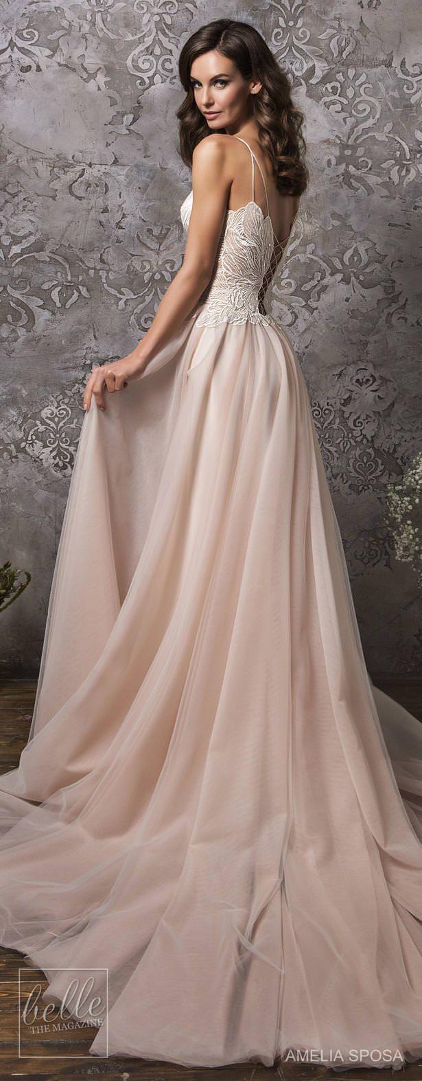 Amelia Sposa Wedding Dress Collection Fall 2018 | Vestidos de novia ...