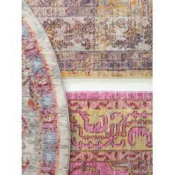 Photo of benuta Teppich Visconti Multicolor/Beige 200×300 cm – Vintage Teppich im Used-Look benuta