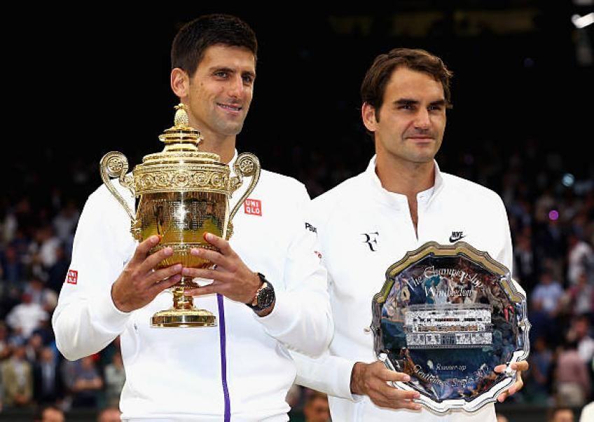 Novak Djokovic Can Definitely Break Roger Federer S Majors Record Agent Novak Djokovic Roger Federer Wimbledon