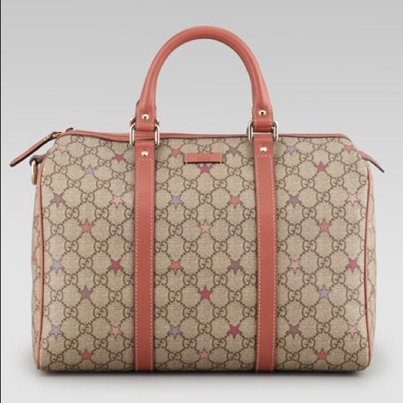 387402c30 Gucci joy gg supreme stars canvas boston bag Brand new real Gucci bag.  Never been held or used, I have the gucci bag it came in when purchased.
