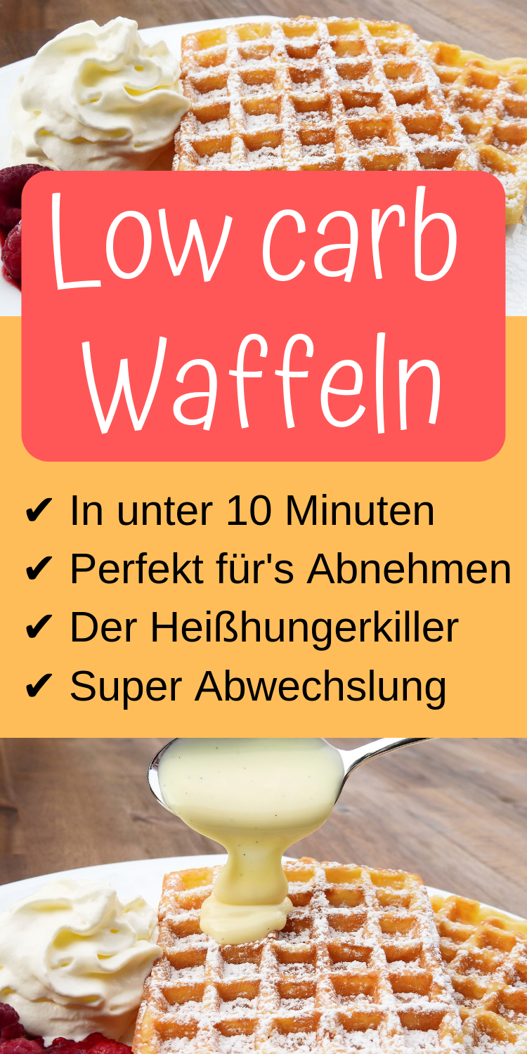 Low Carb Waffeln - Low Carb Held
