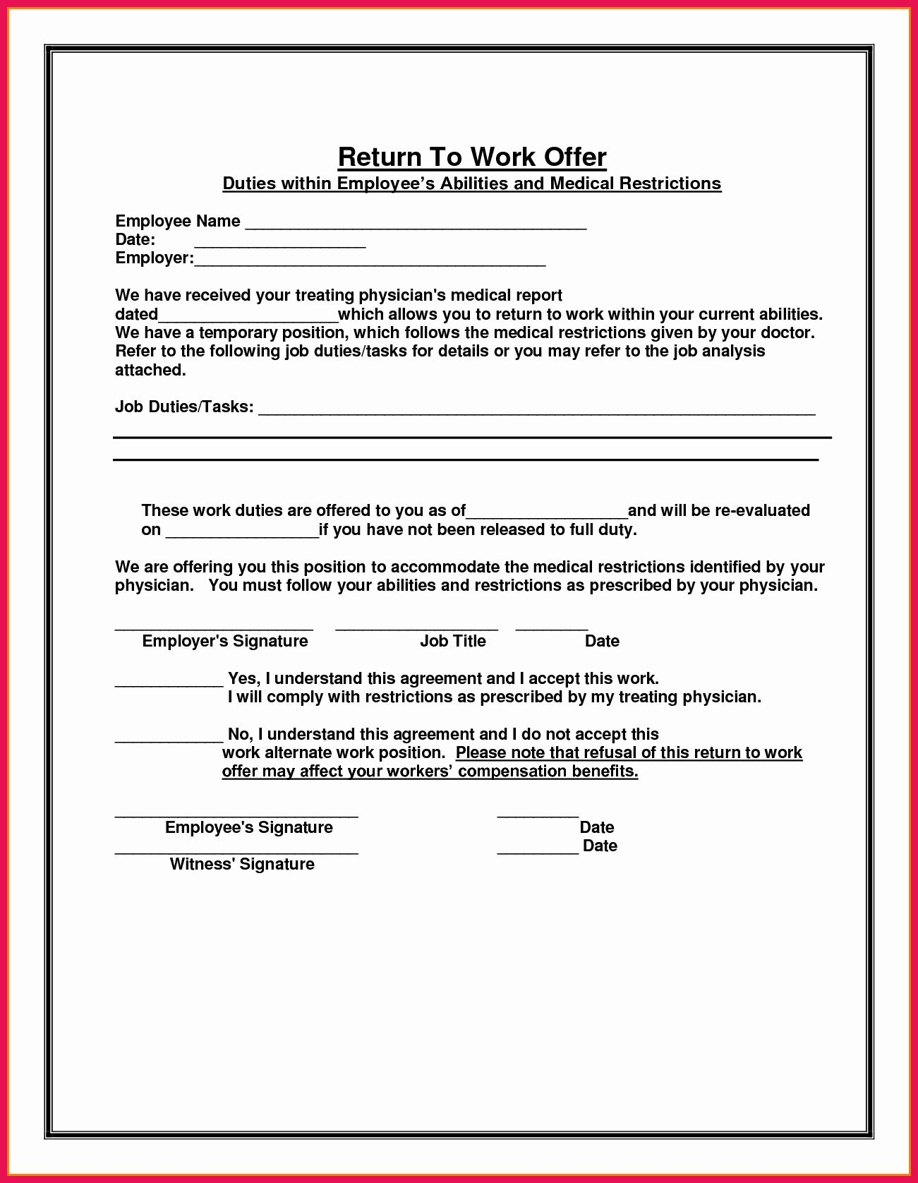 Sick Note Template For Work In 2020 Doctors Note Template Notes