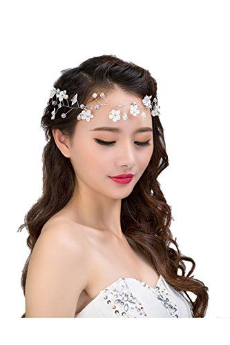 Elisona-Women Ladies Bridal Bridesmaid Wedding Party Deco…