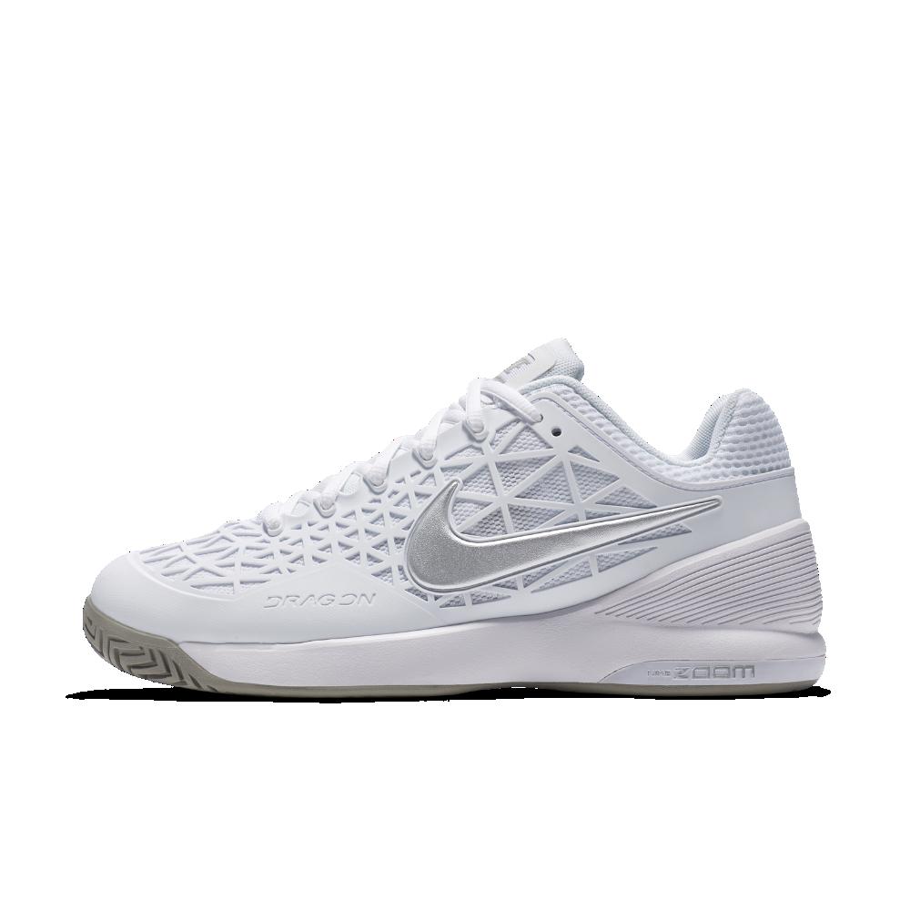 Nike NikeCourt Zoom Cage 2 Women s Tennis Shoe Size 5 (White) Zapatillas De  Tenis 6c913d4d505