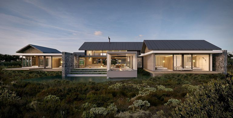 Modern Farm Style Luxury Home South Africa 2 Farm Style House Farmhouse Style House Modern Farmhouse Exterior