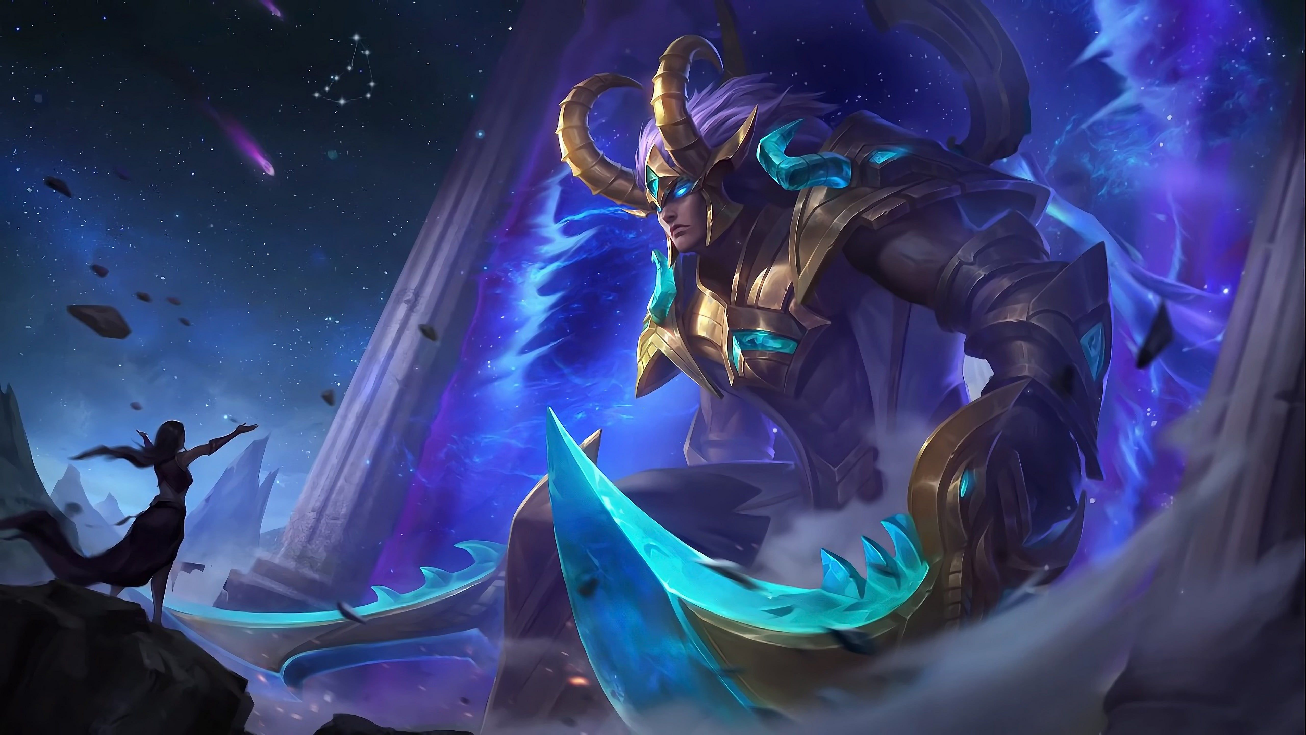 Mobile Legends Martis Capricorn 5k Wallpaper Hdwallpaper Desktop In 2020 Mobile Legend Wallpaper Mobile Legends Alucard Mobile Legends