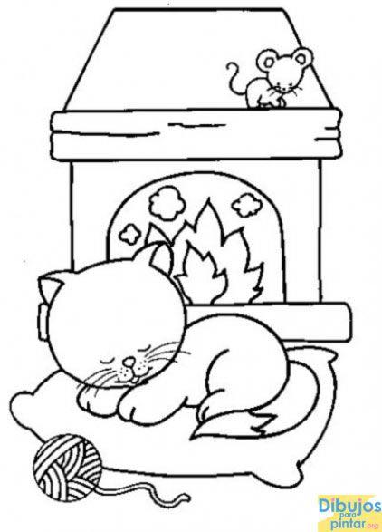 Pin de Carmen Vargas en PLANTILLAS | Pinterest | Dibujos de gatos ...