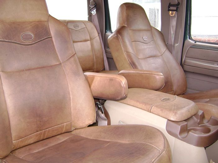 How To Install Super Duty King Ranch Seats In A 94 Crewcab Diesel Forum Thedieselstop Com King Ranch 1995 Ford Bronco Ford Interior