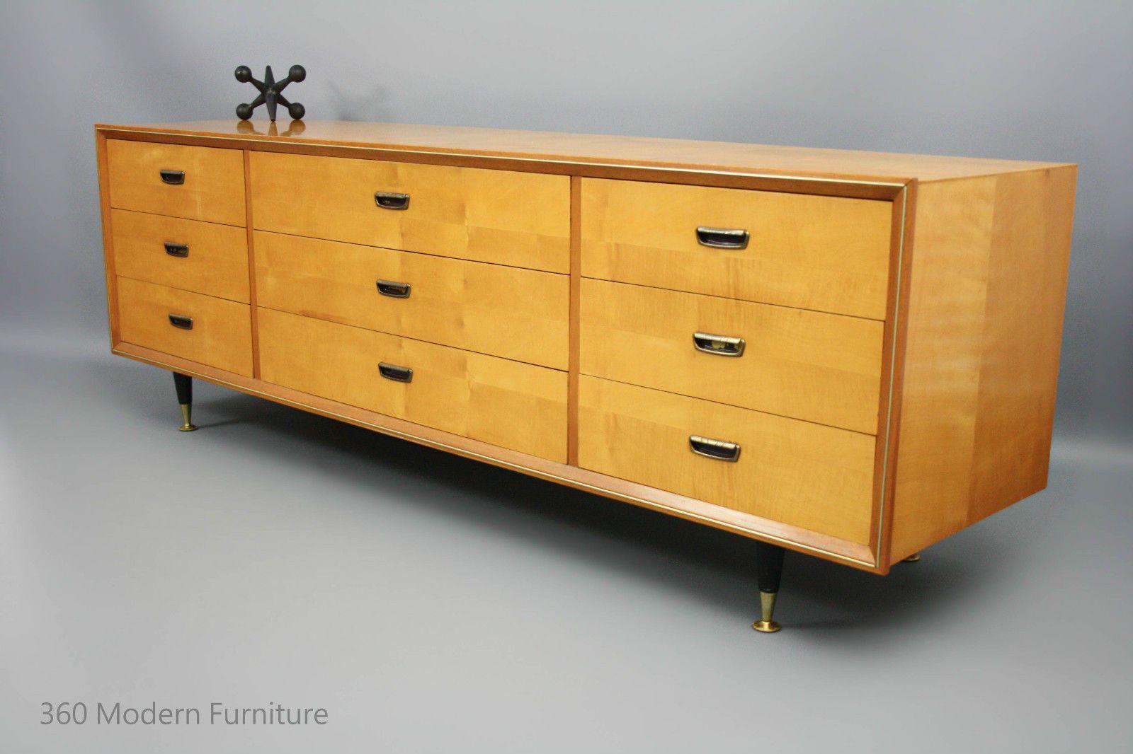 MID Century Modern Sideboard Drawers Blondewood Lowboy Retro Vintage Danish  Era In VIC | 360 Modern