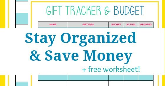 Easy Way to Save Money – Use a Gift List | Easy, Frugal and Gift