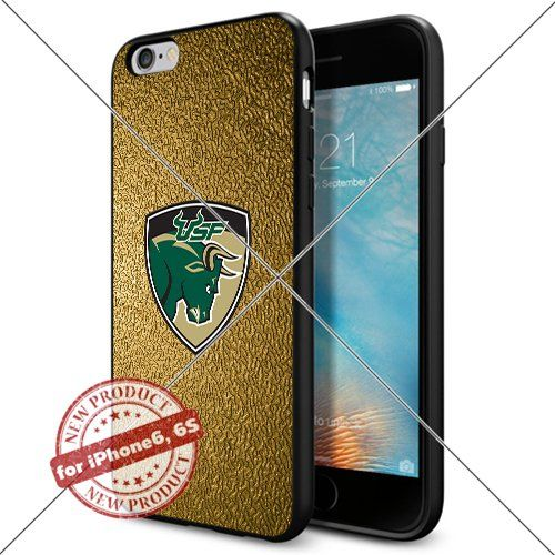 WADE CASE South Florida Bulls Logo NCAA Cool Apple iPhone6 6S Case #1533 Black Smartphone Case Cover Collector TPU Rubber [Gold] WADE CASE http://www.amazon.com/dp/B017J7RRNY/ref=cm_sw_r_pi_dp_30Hqwb12HPFRJ
