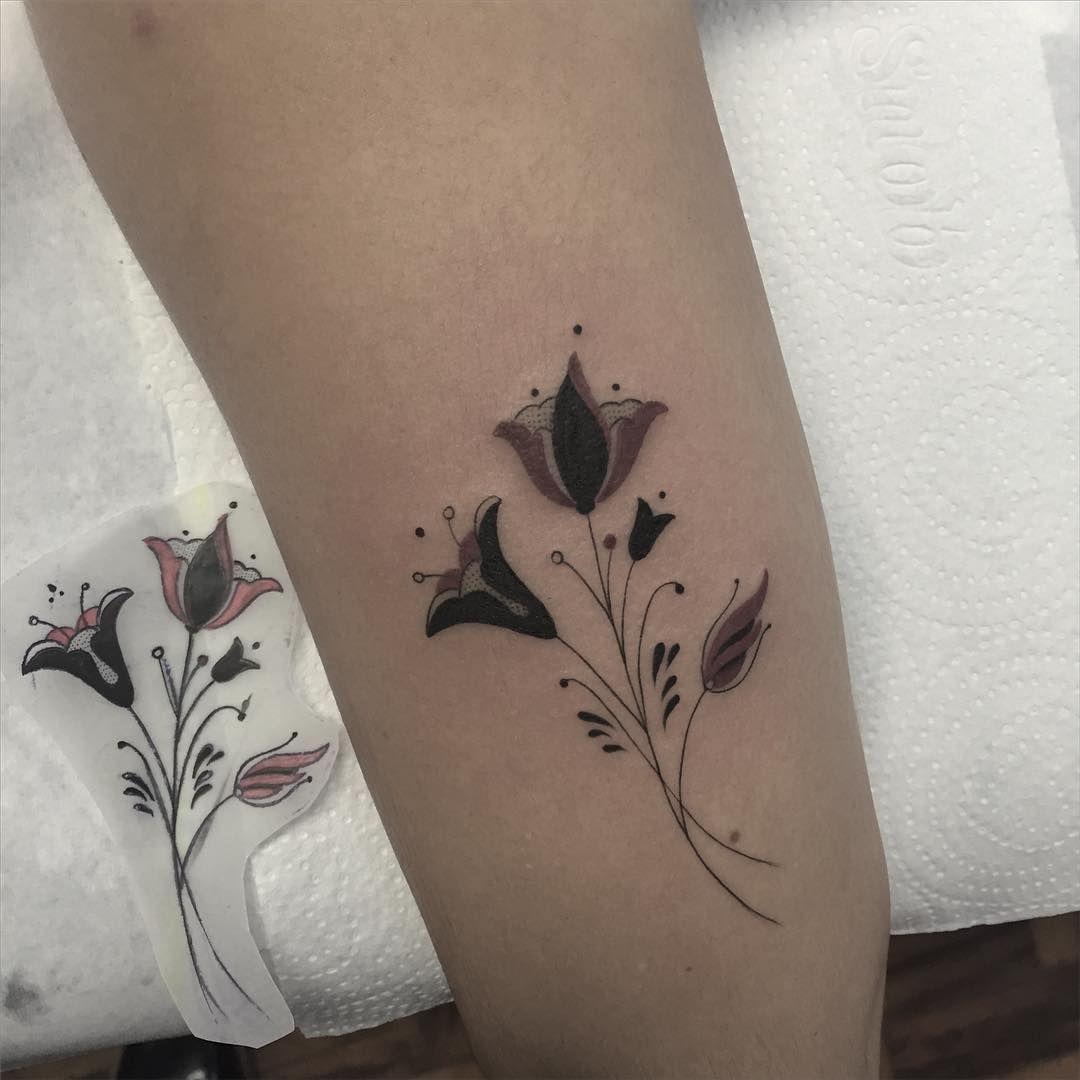 Russian Flower ❤️• #inkstinctsubmission #tattrx