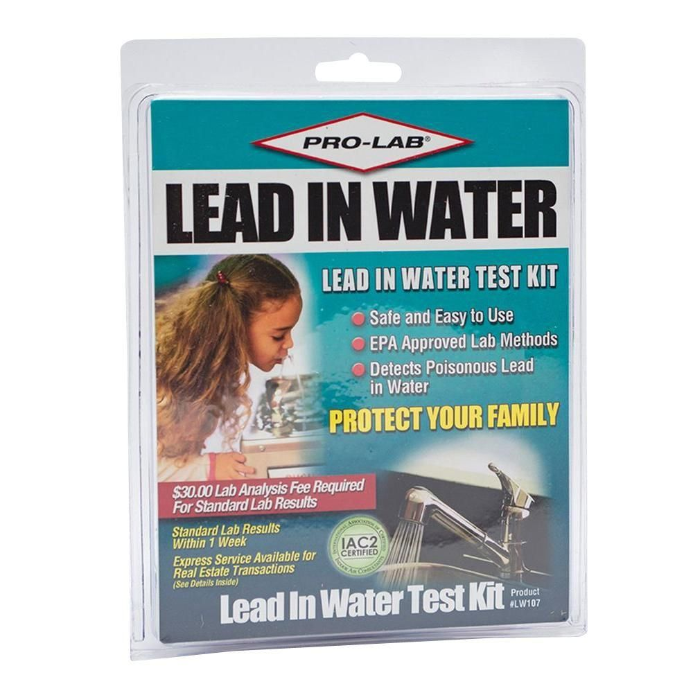 Home Depot Water Tests