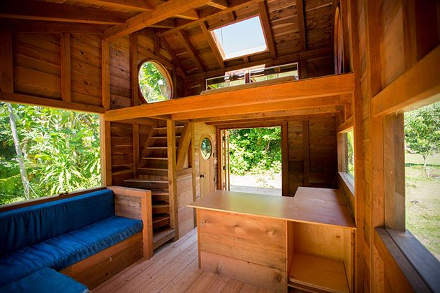 Tiny House on the Big Island   Kristie  Kristie's 2nd tiny house build, this one in Hawaii.