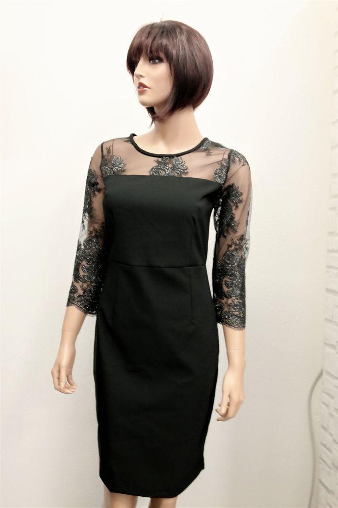 Damen Kleid schwarz 36 #party #sale #shoppen #fashion # ...