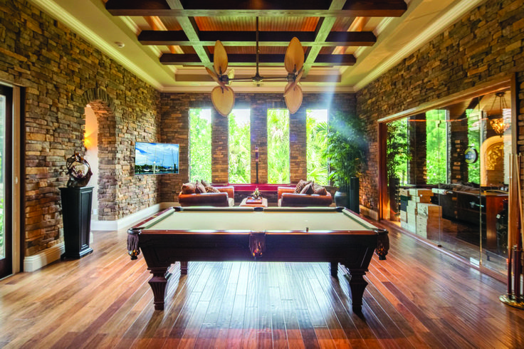 Photo of If youre thinking custom then adding a recreational room into your home is a gre…,  #adding…