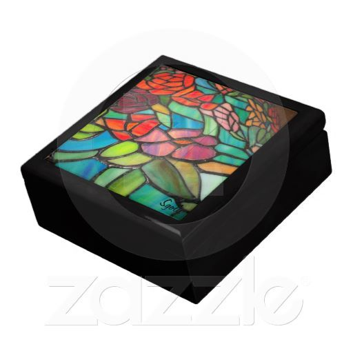 Stained Glass Floral Keepsake Box http://www.zazzle.com/stained_glass_floral_keepsake_box-246098190299921899?gl=Susang6=238418686999709759