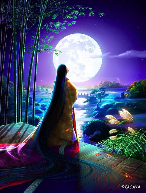 Kaguya Hime represents dancing,fighting,treasure and moon. July 7th.