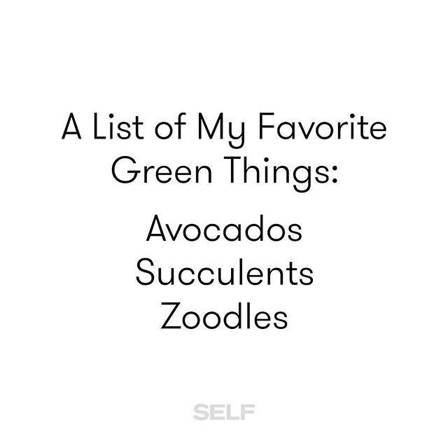 What's on your list?  #StPatricksDay #TeamSELF