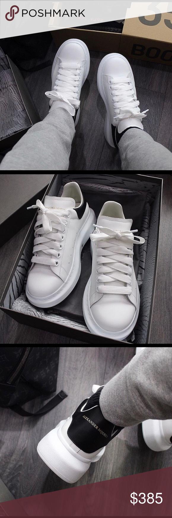 ⚪️⚫️Alexander McQueen Sneakers ...