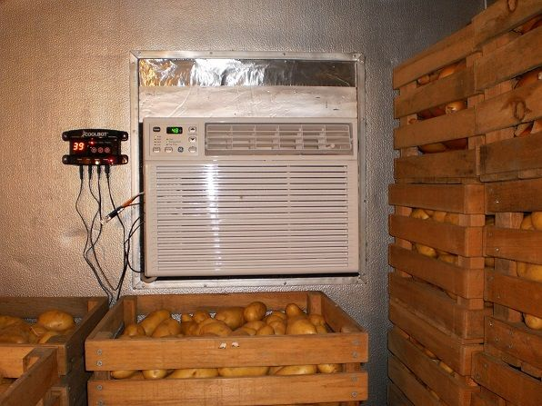 Build Your Own Walk In Cooler With Coolbot Farm Storage Walkin Cooler Diy Cooler