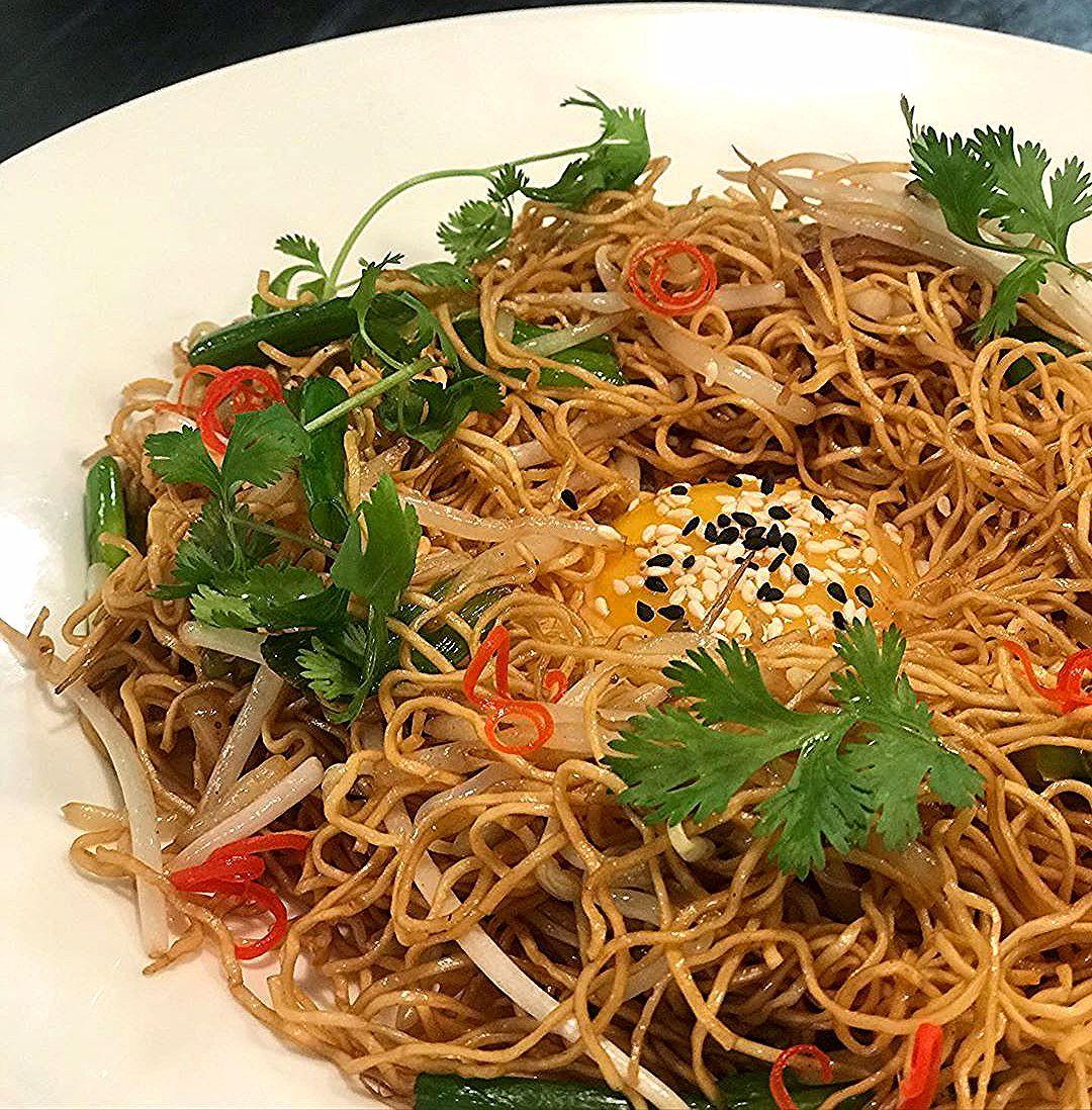 My gourmet version of lucky me! Instant pancit canton! #sarap . . . . . . . . . . . . . . #instantnoodles #chowmien #foodie #foodporn  #foodpornography #instafood #instafoodie #filipinofood #pinoycooking #almusal #foodtravel #cooking #luckyme #pancit #pancitcanton #pancitcantonwithegg #filipino #foodforthought #foodoftheday #wok #kabayan #noodles #yummy #filipinobreakfast #streetfood #nomsg #toyo #kalamansi #kusinanidavid