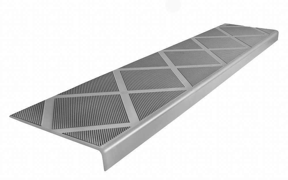 Best Composite Anti Slip Stair Tread 48 Inch Grey Step Cover 400 x 300